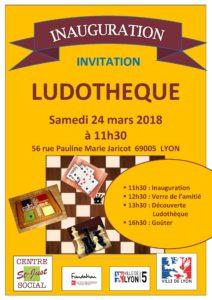 invitation inauguration ludotheque